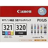 Canon インクタンク BCI-321(BK/C/M/Y)+BCI-320 マルチパック
