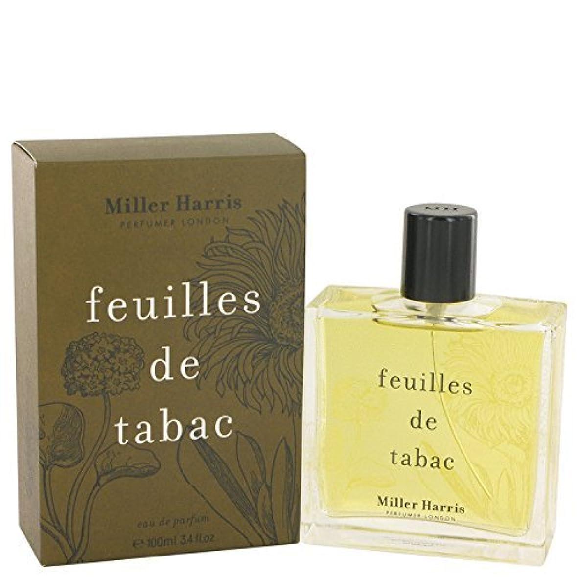 見通し切り刻む到着するミラーハリス Feuilles De Tabac Eau De Parfum Spray 100ml/3.4oz並行輸入品