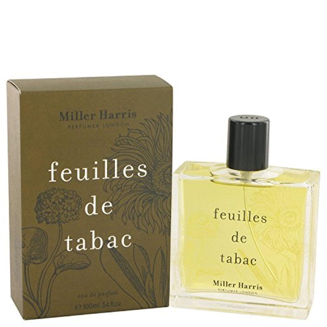 可能性郵便局事実ミラーハリス Feuilles De Tabac Eau De Parfum Spray 100ml/3.4oz並行輸入品