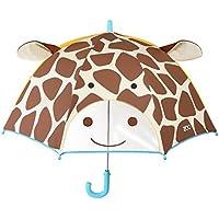 Skip Hop Zoobrella Little Kid Umbrella, Jules Giraffe