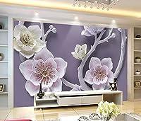 Minyose 壁紙 カスタム壁紙家の装飾的な壁画3Dテレビの背景スペース宇宙空の惑星の背景壁の壁画3Dの壁紙