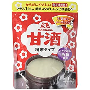 森永製菓 甘酒 粉末タイプ 100g×3個