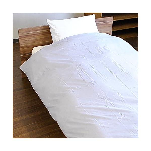 日本製 掛け布団カバー 綿100% 和晒し ガー...の商品画像
