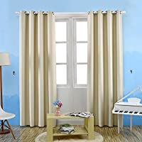 Ochine 新品 カーテン 布生地 純色 無地 玄関 お部屋 間仕切り 装飾 ロングカーテン 直径4cm以内の突っ張り棒適応 一枚入り 洗濯可能