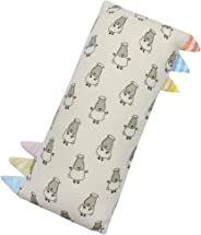 Baa Baa Sheepz Bed-Time Buddy Pillow, Stripe Tag, Yellow, Small