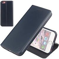NOUSKE Samsung Galaxy Note 5 財布型レザーケース/TPU耐震保護/クレジットカード収納可能/ホルダー/シンプルで超薄型/マグネットボタン紫