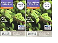 Better Homes and Gardens Fresh Cut Frasier Scented Wax Cubes 5oz - 2-Pack [並行輸入品]