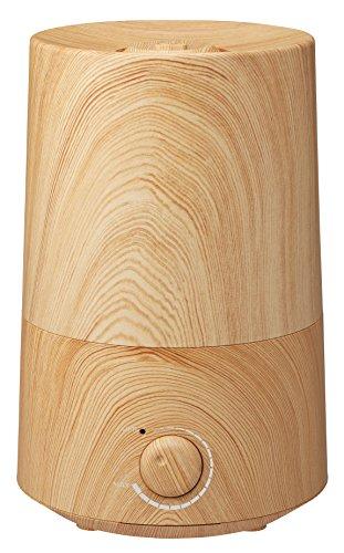 アロマ加湿器「フロートL」 木目調 ナチュラルウッド HFT-1623NW