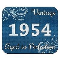 青ビンテージパーフェクション1954年に高齢者マウスパッド