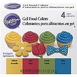 WILTON (ウィルトン) プライマリージェルカラーセット 色素 着色 デコレーション アイシング