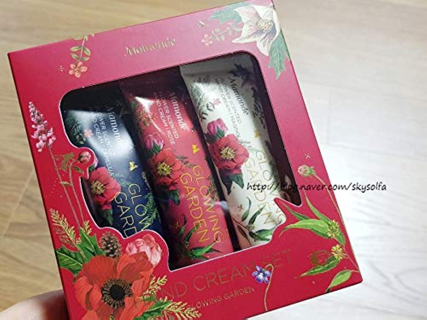 便利さデータ臭い【マモンド.mamonde]フラワーセンチドハンドクリームギフトセット/flower scented hand cream gift set(3piece)