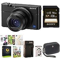 Sony dsc-rx100m5- ShotデジタルカメラW / 128GB memordyカードバンドル