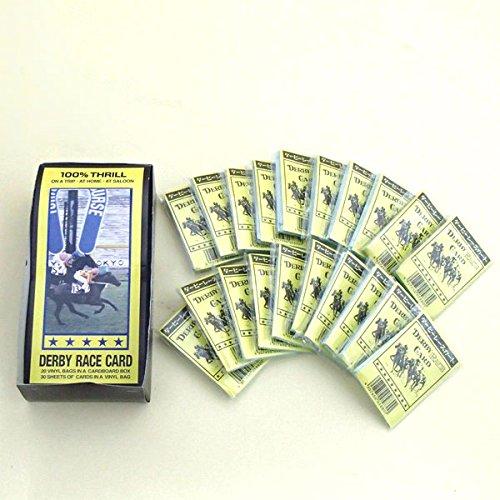競馬カード ダービーレースカードボックス(30枚入り×20セ...