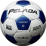 molten(モルテン) サッカーボール ペレーダ4000   4号 白×青 F4P4000-WB
