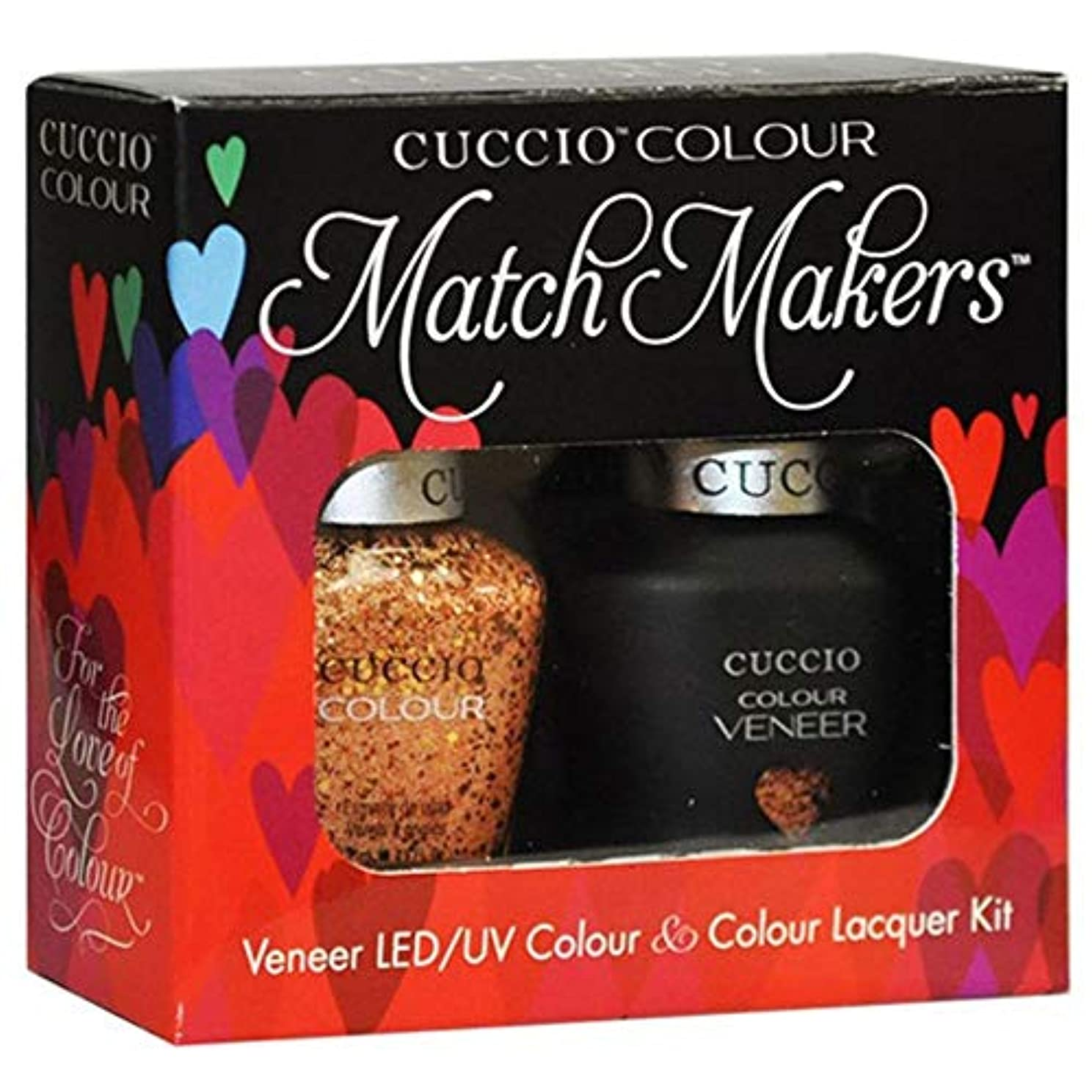 形成不実補足Cuccio Colour Veneer LED/UV Gel Polish - After Party - 0.43oz / 13ml