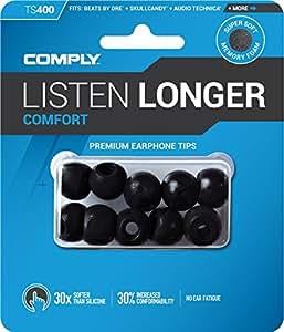 COMPLY (コンプライ) イヤホンチップ Ts-400 ブラック Sサイズ 5ペア (並行輸入品)