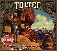 Toltecブランド–Rivera、カリフォルニア–Citrusクレートラベル 12 x 18 Art Print LANT-57780-12x18