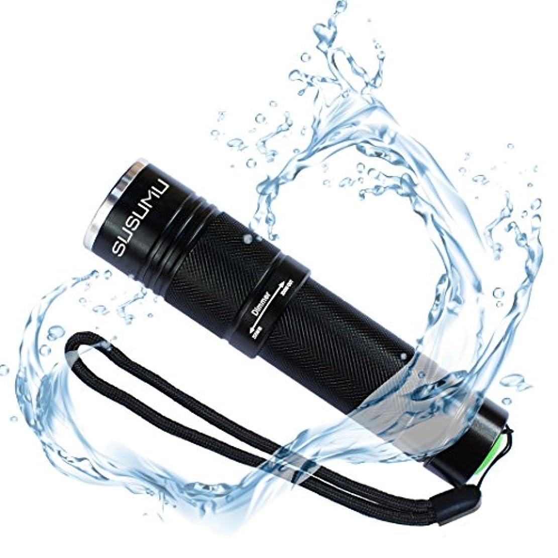 タウポ湖どのくらいの頻度でデュアルSUSUMU 懐中電灯 LED 超高輝度 CREE XML-T6 ズーム式 5モード メモリー機能 ボタンスイッチ 単4/18650(セット)
