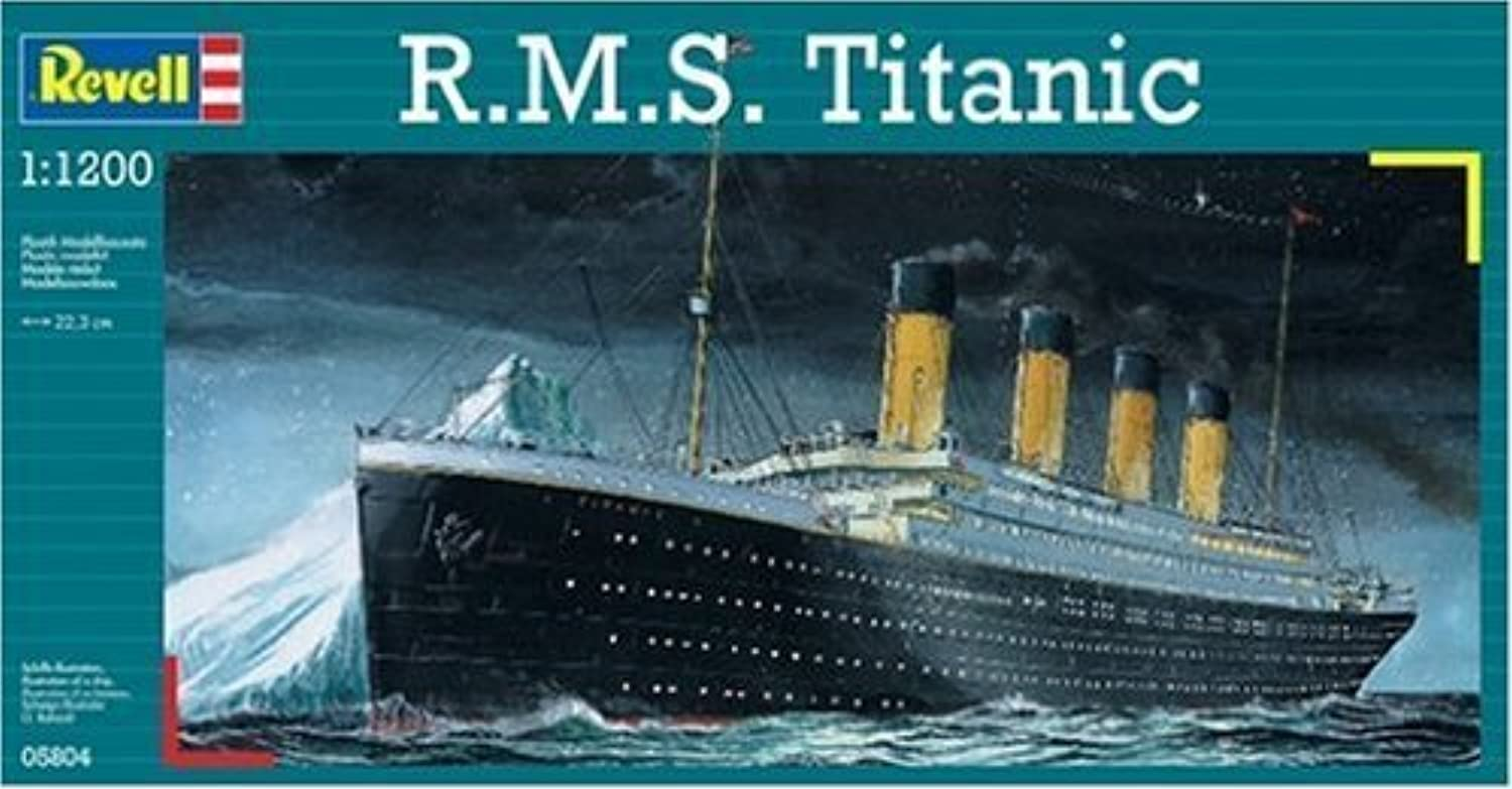 Revell 1:1200 R.M.S. Titanic by Children Web store