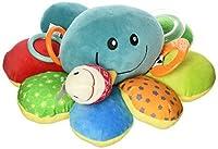 Nuby Ollie Activity Plush Toy Octopus [並行輸入品]