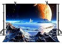 fuermor 10x 7ft Charming Universe Planet写真バックドロップスタジオ小道具カスタマイズ写真背景部屋Mural danfu024