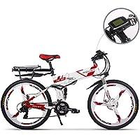 電動アシスト自転車 折りたたみ 26インチ 電動自転車 MTBマウンテンバイク 36V*12.8AHリチウムバッテリー 250W (専用充電器付、泥けなどを付き)