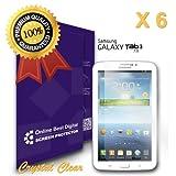 OBiDi ™–Samsung Galaxy tab37.0( t210)スクリーンプロテクター–OBD小売パッケージ Pack of 6 OBD-PF-GTAB37-PF6