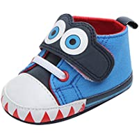 Weixinbuy Baby Boy's Girl's Cute Big Eyes Non-Slip Walking Shoes Casual Sneakers