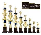 [レーザー彫刻名入れ] GOLD SHACHI 優勝トロフィー T8729 Cサイズ(B-1) 【将棋】