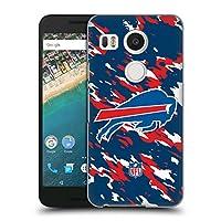 オフィシャル NFL カモフラージュ バッファロー・ビルズ ロゴ ハードバックケース LG Nexus 5X