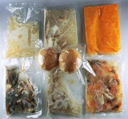 トヨハシチュラスープ6種×3袋セット+プチパン2個入り18袋