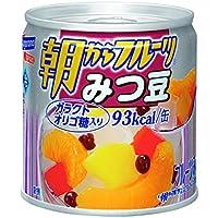 はごろも 朝からフルーツ みつ豆 190g (4081)×6個