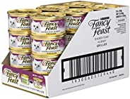 Fancy Feast Grilled Chicken in Gravy Wet Cat Food, Adult, 24 Can, 24x85g