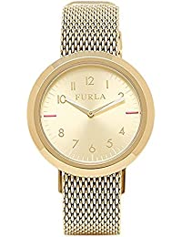[フルラ] FURLA レディース 34ミリ ヴァレンティナ イエローゴールド R4253103502 腕時計 [並行輸入品]