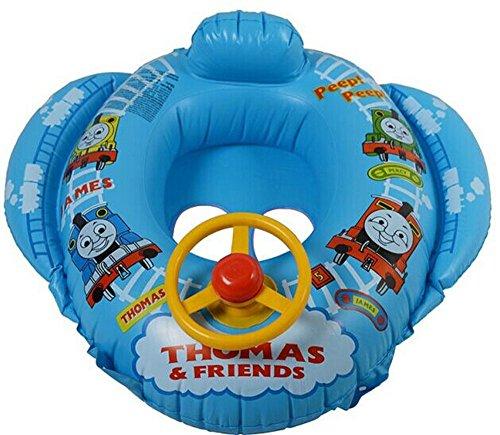【e-Hunt】トーマス ベビー浮き輪 ボートフロート 男の子 人気