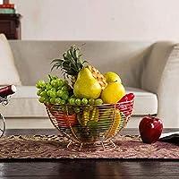 SLH ヨーロッパスタイルフルーツ盛り合わせ大きなリビングルームフルーツバスケット乾燥フルーツフルーツキャンディスナック盆地