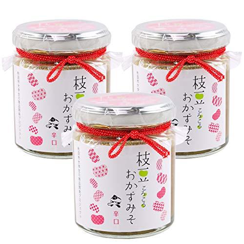 秋田味噌 枝豆ころころ おかず味噌 (辛) 90g (3瓶)