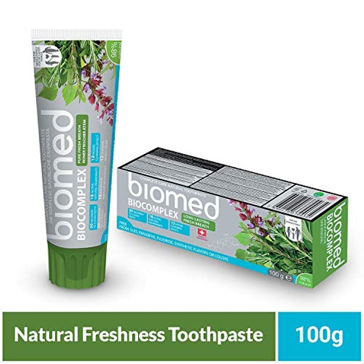 理解うつ定期的なバイオームバイオ複合体練り歯磨き(75ml)