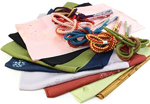 帯揚げ 帯締め セット 正絹 よりどり10点福袋