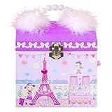 〔リリーアンドアリー〕Lily & Ally ワールドトラベラーパリ編 バレリーナ オルゴール付き キッズジュエリーボックス 子供用 宝石箱 アクセサリーケース (曲目:ムーンリバー Moon River)Lily & Ally World Travelers in Paris Ballerina Musical Children's Jewelry Box