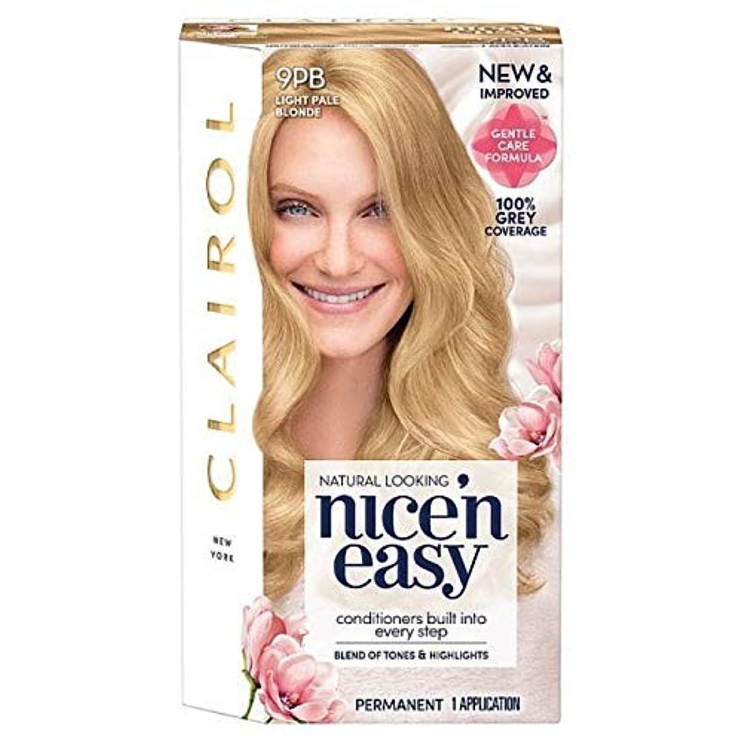 不器用光景メタン[Nice'n Easy] Nice'N簡単9Pb光淡いブロンド - Nice'n Easy 9Pb Light Pale Blonde [並行輸入品]