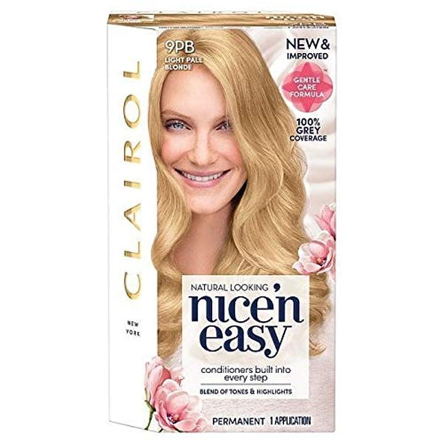 ぬれた大胆不敵繁栄[Nice'n Easy] Nice'N簡単9Pb光淡いブロンド - Nice'n Easy 9Pb Light Pale Blonde [並行輸入品]