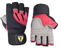 ucgym UC Girlレディースワークアウト手袋の手首ラップ–Great forジム、重量上げ、クロスフィット、サイクリング