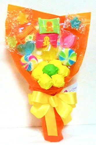 キャンディーブーケ 手持ちSサイズ (オレンジ)