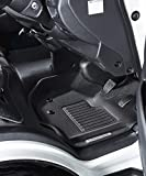 GORDON MILLER 立体 マットラバー トヨタ ハイエース レジアスエース DXグレード S-GLグレード 前席3枚 カーマット フロント セット ブラック 1594607
