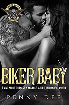 Biker Baby (The Kings of Mayhem MC Book 3) by [Dee, Penny]