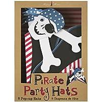 【Meri Meri メリメリ】ペーパーパーティハット パイレーツ海賊 8枚入り Ahoy There Party Hats