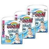 【ケース販売】グーン(GOO.N) テープ はじめての肌着 Mサイズ (6~11kg) 246枚(82枚入×3パック)