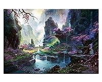 美しい風景のパズル子供たちのためのクリエイティブパズル大人1000ピース、A3