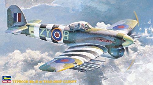 ハセガワ 1/48 イギリス空軍 タイフーン Mk.IB 水滴風防付 プラモデル JT60